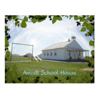 Amish  Postcard,School House. ADD STORE NAME. Postcard