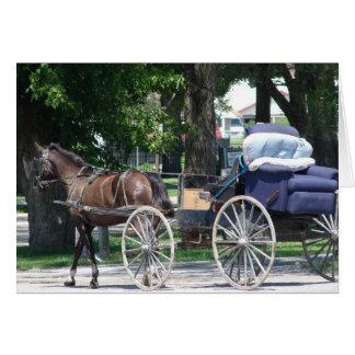 Amish Recliner Card