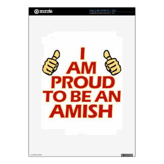 AMISH religious designs iPad 2 Skins