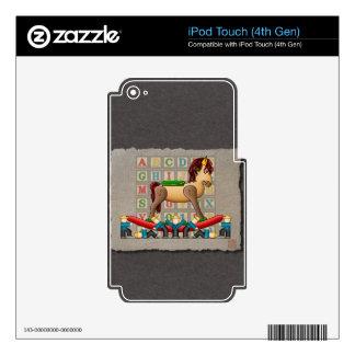 Amish Rocking Horse iPod Touch 4G Skin