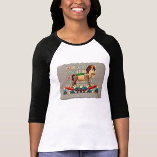 Amish Rocking Horse T-Shirt
