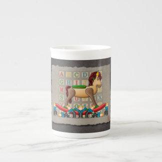 Amish Rocking Horse Tea Cup