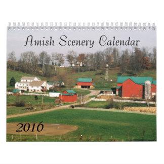 Amish Scenery 2016 Calendar