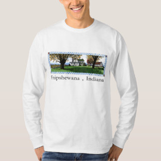 Amish se dirigen Shipshewana, Indiana Playera