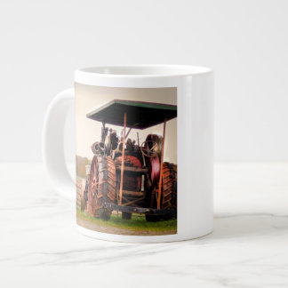Amish Steam Tractor Giant Coffee Mug