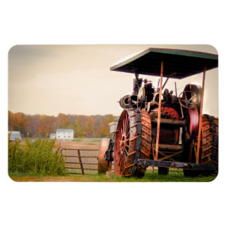 Amish Steam Tractor Magnet
