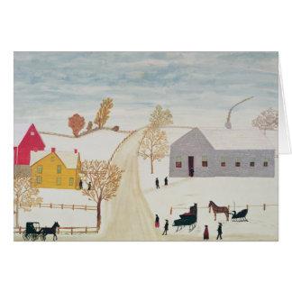 Amish Village Card