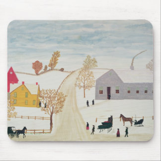 Amish Village Mouse Pad