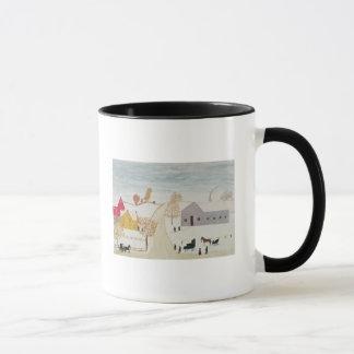 Amish Village Mug