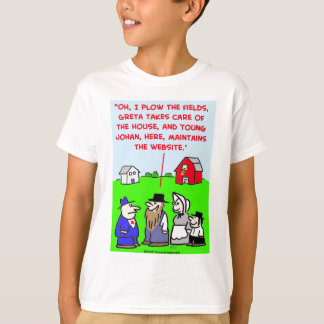 amish website T-Shirt