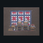 """Amish Women Quilting Canvas Print<br><div class=""""desc"""">Quilting could be found in almost every house at one time. Sewing skills were passed down from mother to daughter for generations. Today the sewing machine and quilting supplies may be housed in a sewing room and the quilter happily making quilts of all sizes. The quilts and quilters alike have...</div>"""