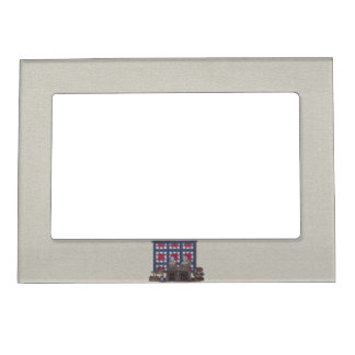 Amish Women Quilting Magnetic Photo Frame