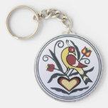 AmishHex-LoveBird Keychains