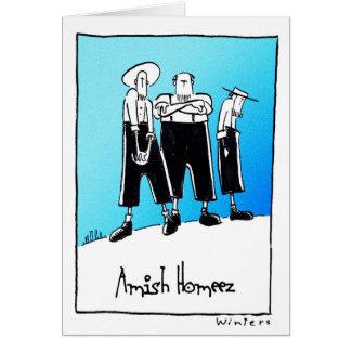 AmishHomeez Tarjeta De Felicitación