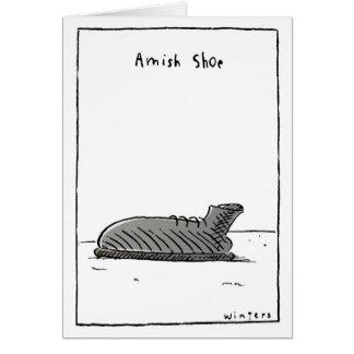 AmishShoe Greeting Cards