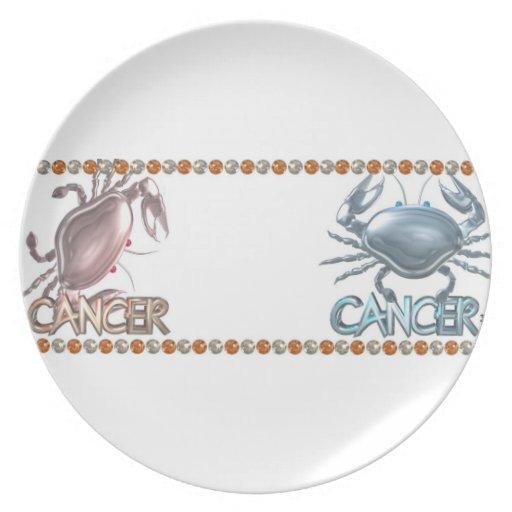 Amistad de la astrología del cáncer del cáncer platos