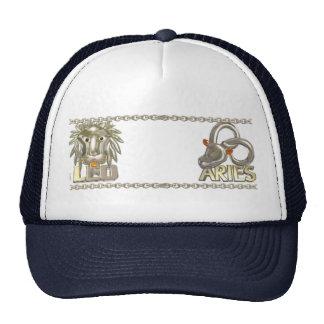 Amistad de la astrología del zodiaco del aries de gorras