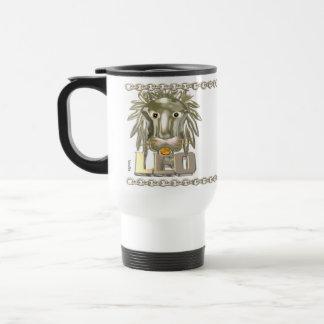 Amistad de la astrología del zodiaco del aries de  tazas de café