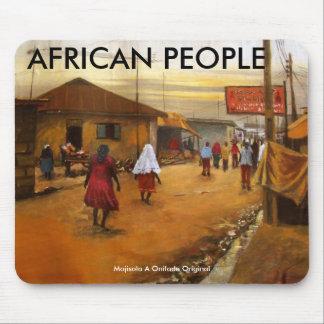 AMISTAD, GENTE AFRICANA, Mojisola un Onifade… Alfombrillas De Ratón