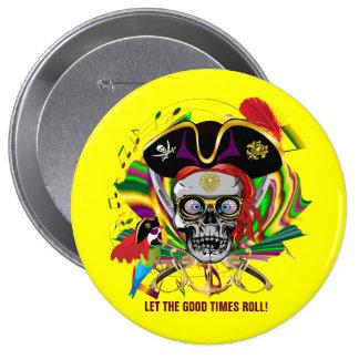 Amistad Pin Redondo 10 Cm