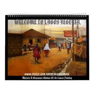 AMISTAD, RECEPCIÓN A LAGOS NIGERIA, RECEPCIÓN… CALENDARIOS DE PARED