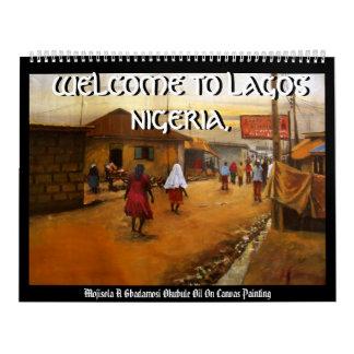 AMISTAD, RECEPCIÓN A LAGOS NIGERIA, RECEPCIÓN… CALENDARIOS