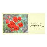 Amistad subió tarjetas fotograficas personalizadas