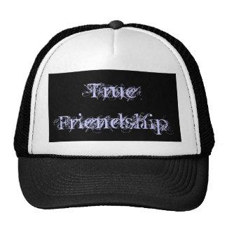 Amistad verdadera gorros bordados