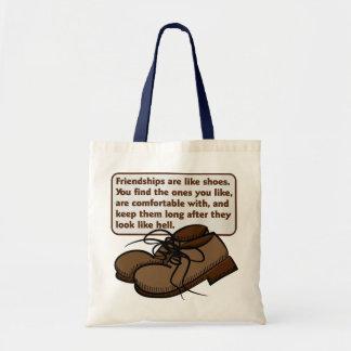 Amistades y bolso de los zapatos bolsas