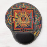 "Amitabha Buddha Mandala from Tibet Gel Mouse Pad<br><div class=""desc"">Amitabha / Amitayus Buddha Mandala from Tibet An antique reproduction of a genuine Tibetan Thanka with Amitabha Amitayus Buddha in the center surrounded by Buddhas.</div>"