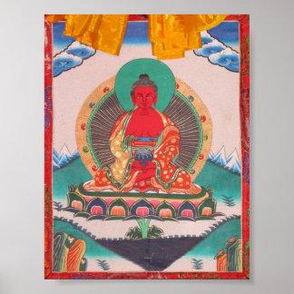 Amitabha Buddha Print