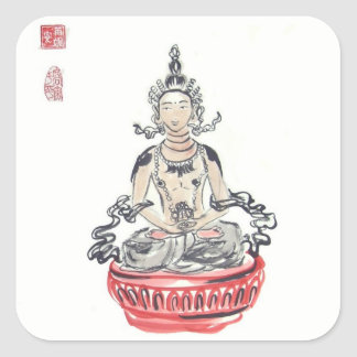 Amitayus Buddha Stickers