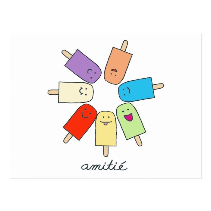 Amitié Postcard
