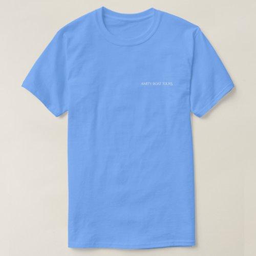 Amity Boat Tours Skipper T_Shirt
