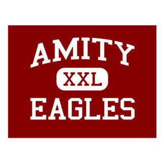 Amity - Eagles - Middle School - Amity Oregon Postcard