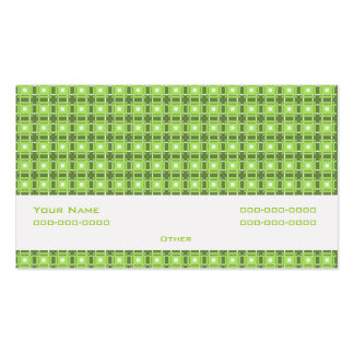 Amity Green Double-Sided Standard Business Cards (Pack Of 100)
