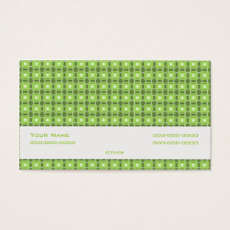 Amity Green Business Card