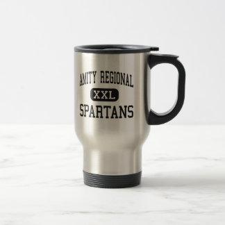 Amity Regional - Spartans - High - Woodbridge Travel Mug