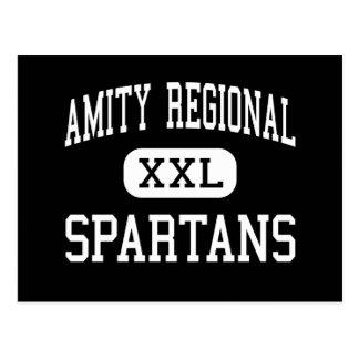 Amity Regional - Spartans - Junior - Bethany Postcard