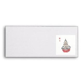 Amityaus Buddha Art Envelope