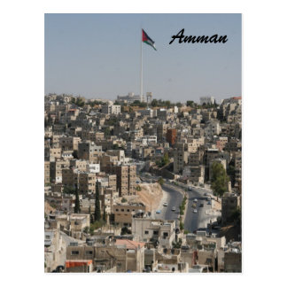 amman city postcard