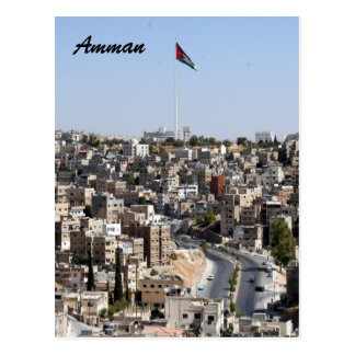 amman flag postcard