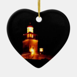 Amman King Hussein Mosque #2 Ceramic Ornament