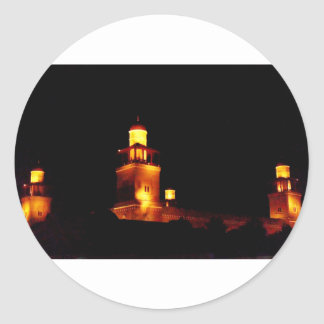 Amman King Hussein Mosque #2 Classic Round Sticker
