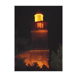 Amman King Hussein Mosque Canvas Print