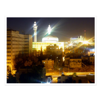 amman night lights postcard
