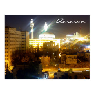 amman night postcard