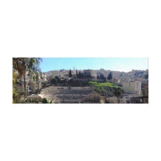Amman Roman Theater Canvas Print