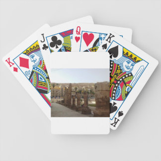 Amman Roman Theater Half Columns Bicycle Playing Cards