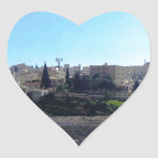 Amman Roman Theater Heart Sticker